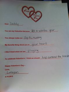 Great way to get your younger children involved in the sharing of love on Valentine's Day!