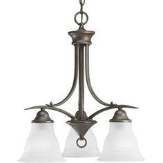 Progress Lighting�Trinity 3-Light Antique Bronze Chandelier