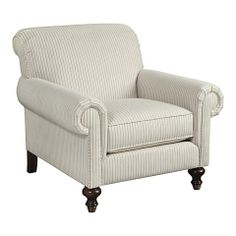 HGTV HOME Custom Classics Chair #bassettfurniture #accentchair