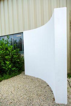 Platoflex curved wall.