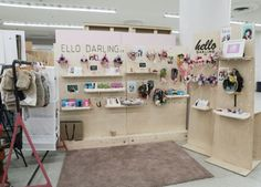 Hello Darling Vendor Displays, Display Ideas, Wardrobe Rack, Photo Wall, Frame, Furniture, Home Decor, Picture Frame, Photograph