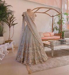 Indian Wedding Gowns, Asian Wedding Dress, Indian Gowns Dresses, Indian Bridal Outfits, Indian Bridal Fashion, Indian Fashion Dresses, Dress Indian Style, Indian Wear, Bridal Dresses