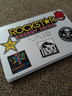 Added a Serengetee sticker on my laptop to represent!! :D