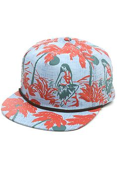 The Henshaw Hat in Luau Blue by Brixton