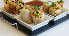 Fresh Rolls, Tacos, Appetizers, Mexican, Cooking Recipes, Ethnic Recipes, Food, Appetizer, Chef Recipes