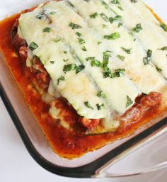 Thin layers of sliced squash are the perfect alternative for lasagna ...
