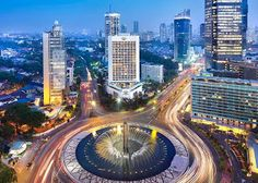 The heart of Jakarta: The capital of Indonesia, Jakarta, is the most affordable destination in the world for a city break, after Hanoi, according to a recent study released by TripAdvisor. (Photo courtesy of Mandarin Oriental Jakarta) Mandarin Oriental, Places Around The World, The Places Youll Go, Places To Visit, Around The Worlds, Bali, Borneo, Ubud, Beautiful World