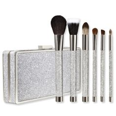 Sonia Kashuk Holiday Brush Set  The brushes are soft and sturdy, the clutch is sparkly and flirty.