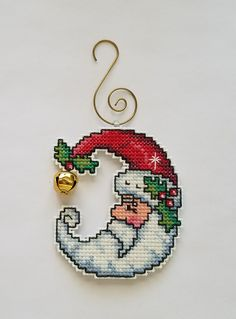Cross Stitch Christmas Ornaments, Xmas Cross Stitch, Cross Stitch Kitchen, Cross Stitch Cards, Christmas Embroidery, Christmas Cross, Cross Stitching, Cross Stitch Embroidery, Cross Stitch Designs