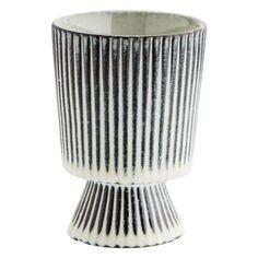 Cirque Striped Plant Pot (mini) - CuriousEgg