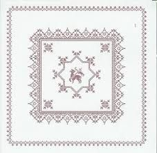 Weihkorbdecken Counting Pattern - Christmas Basket - Themes Source by Christmas Baskets, Easter Cross, Happy Easter, Quilling, Needlepoint, Counting, Needlework, Free Pattern, Cross Stitch