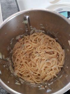 Gorgonzola-Sahne-Nudeln