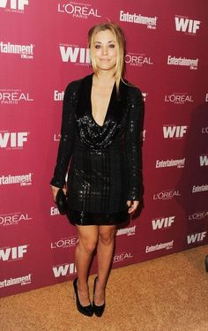 Actress Kaley Cuoco attends The 2011 Entertainment Weekly And Women In Film Pre-Emmy Party Sponsored By L'Oreal at BOA Steakhouse on September 16, 2011 in West Hollywood, California.