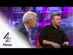 Charlie Brooker teaches Jon Snow to play video games | Channel 4 News - YouTube