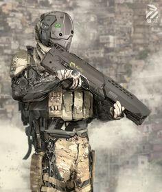 Nuthin' But Mech: Brazilian Infantry Drone