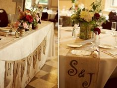 thanksburlap tabl, tabl runner, letter, table covers, burlap banners, table centers, head tables, table runners, bridal showers