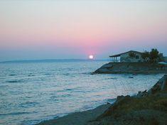 Μία ολόκληρη παράνομη πόλη στα παράλια της Ηλείας! Greece, Celestial, Sunset, Beach, Water, Outdoor, Sunsets, Water Water, Outdoors