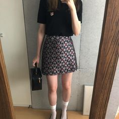 Daily Look, Spring Summer Fashion, Skater Skirt, Photo And Video, Skirts, Collection, October, Aesthetics, Instagram