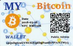 MY Bitcoin NFC peňaženka – DiGiPAY.sk