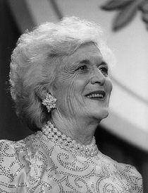 Barbara Pierce Bush, 1989–1993