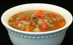 Lentil-Vegetable Soup - A hearty, tasty vegan soup that's perfect ANY season of the year! www.ultimatedanielfast.com