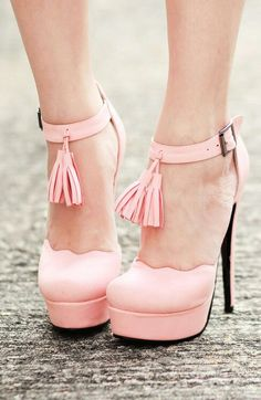#cute #pink #shoes