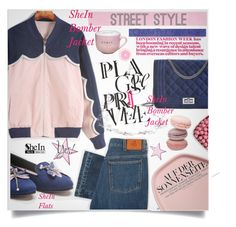 """""""SheIn Street Style"""" by lillili25 ❤ liked on Polyvore featuring Blauer and PS Paul Smith"""
