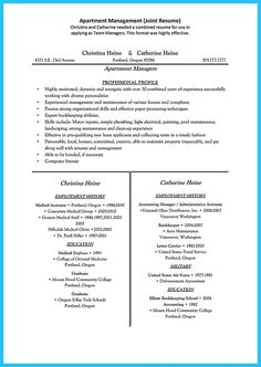 cool outstanding professional apartment manager resume you wish to makehttp - Apartment Manager Resume