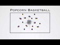 P.E. Games - Popcorn Basketball - YouTube