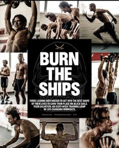Men's Health South Africa has published a pretty awesome article about @roarkgyms training us boys for #BlackSails. Grab yourself a copy!