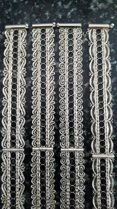 Filigrana Filigree Jewelry, Silver Jewellery Indian, Hand Jewelry, Silver Filigree, Metal Jewelry, Jewelry Art, Silver Jewelry, Jewelry Design, Sterling Silver Cuff Bracelet