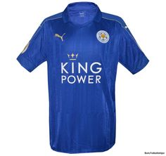 Leicester City hemmatröja 2016 - 2017 | fotbollströjor - Boris Herbertsson