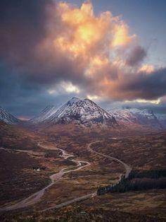 Beinn a'Chrulaiste, Glen Coe, Highlands of Scotland by Robin K. Photography.
