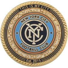 New York City FC MLS Gold Coin
