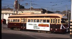 Original 35mm Kodachrome Last Toronto TTC PCC streetcar run 4601 Roncesvelles'95