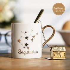 Sagittarius Ceramic Lucky Mug