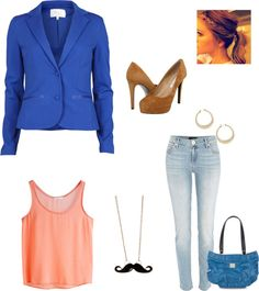 """""""tomorrows bronco day work outfit"""" by feather9284 on Polyvore"""