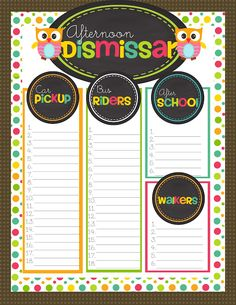 Get your Monday started right with a back to school freebie for your classroom! ~ Simply Sprout