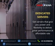 A dedicated server is a stand-alone physical computer with hardware resources and Internet connectivity dedicated to a single server owner. With a dedicated server, you have powerful and reliable hardware, which gives a secure connection to your business critical applications. #dedicatedserver #datacentre #redundancy #hosting #tier3 #noc #informationtechnology #micronova Business Requirements, Security Solutions, Hosting Company, Information Technology, How To Better Yourself, Physics, Connection, Hardware, Internet