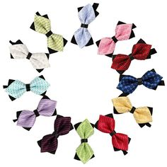 Attractive Menswear  Bow Ties For Children Accessories Cravat Bowtie Butterfly