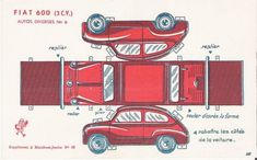 Car_paper_model_fiat - more variety at the site too