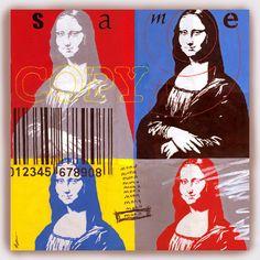 The Same Mona Lisa