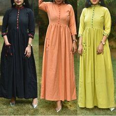 Batik Fashion, Abaya Fashion, Fashion Dresses, Maxi Skirt Outfits, Maxi Gowns, Kurti Neck Designs, Kurti Designs Party Wear, Indian Wedding Outfits, Indian Outfits