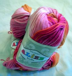 Alize Bella Batik designed Yarn Pure Cotton Baby by HandyFamily, €3.80