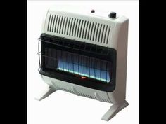 The Mr. Heater 30,000 BTU heater is a natural gas, vent free blue