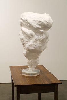 Jennifer Bolande  Plume, 2007 plaster, wire mesh, concrete, wood