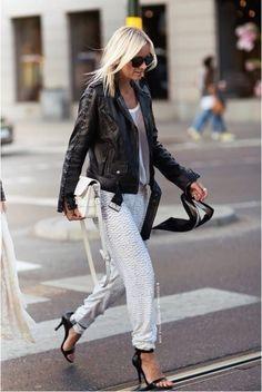 Outro dia vagando pela internet achei esta foto no site de street style Stockholm, salvei na horapensando em mandar para a Cris. Acabei esquecendo e só hoje, fazendo uma limpeza no meu computador, me lembrei dela. Este look é ou não é a cara dela?! Foto: Stockholm Street Style