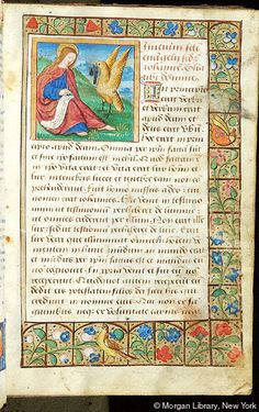 Book of Hours, MS M.1114 fol. 8r - Images from Medieval and Renaissance Manuscripts - The Morgan Library & Museum