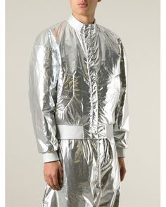 a562fc092d11 silver bomber jacket - Google Search