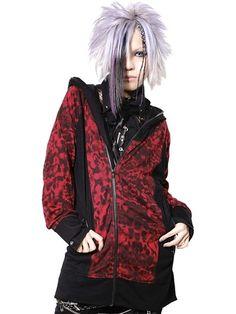 LEOPARD FATE ROCK Parka | CDJapan. See more at http://www.cdjapan.co.jp//apparel/sexpot.html #punk #japanesefashion